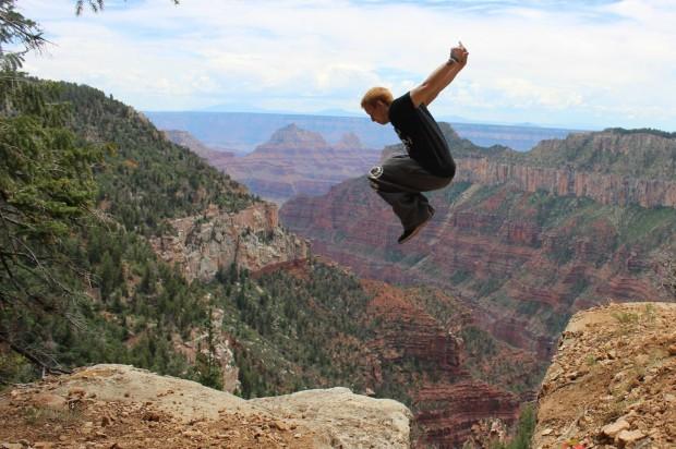 run faster canyon jump 620x412 Run Faster Jump Higher USA Tour