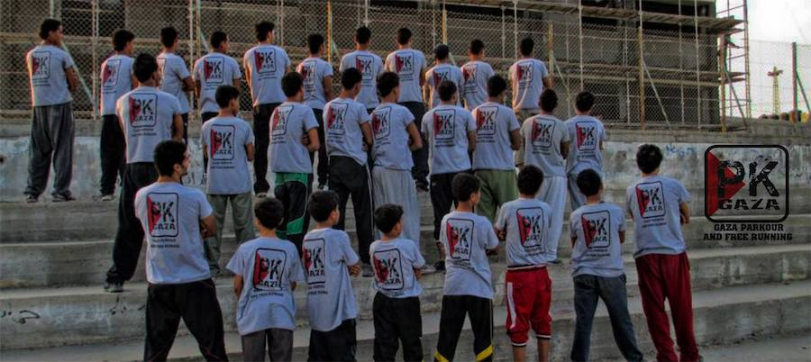 Gaza Parkour and Freerunning