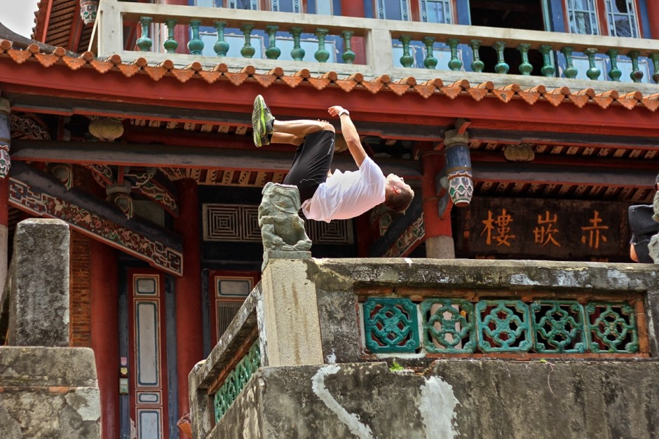 Jonathan Hafichuk - Taiwan Temple Backflip