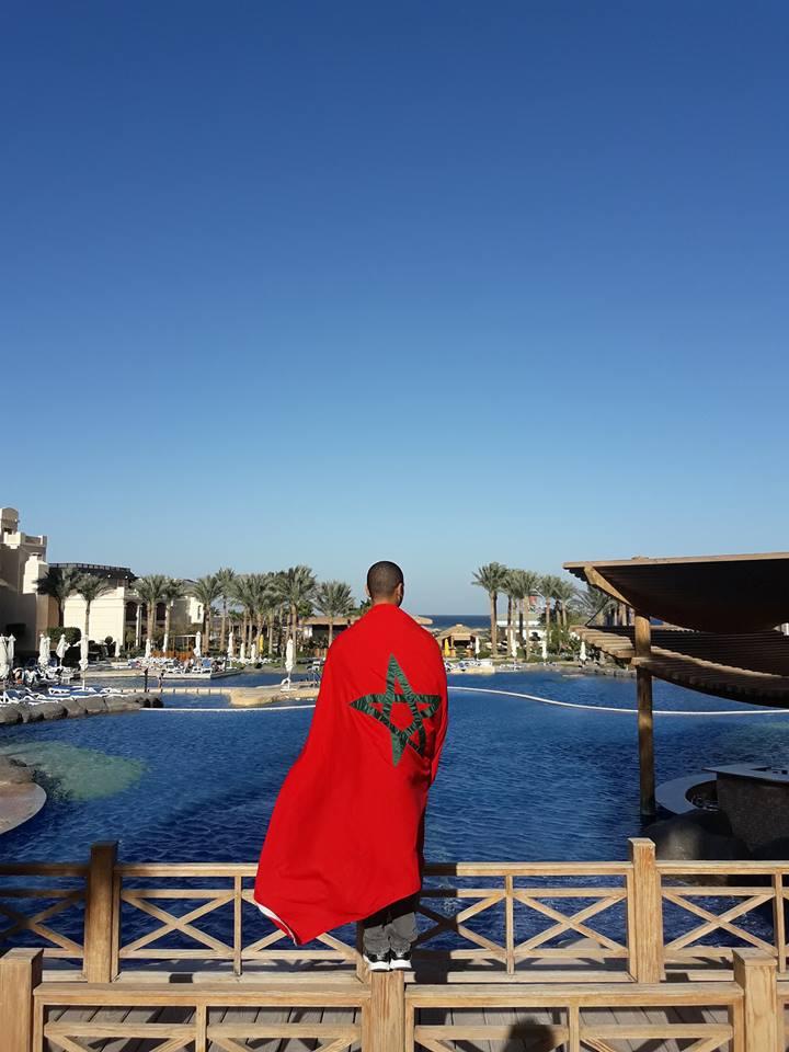 Ahmed El Gazzar Moroccan Flag