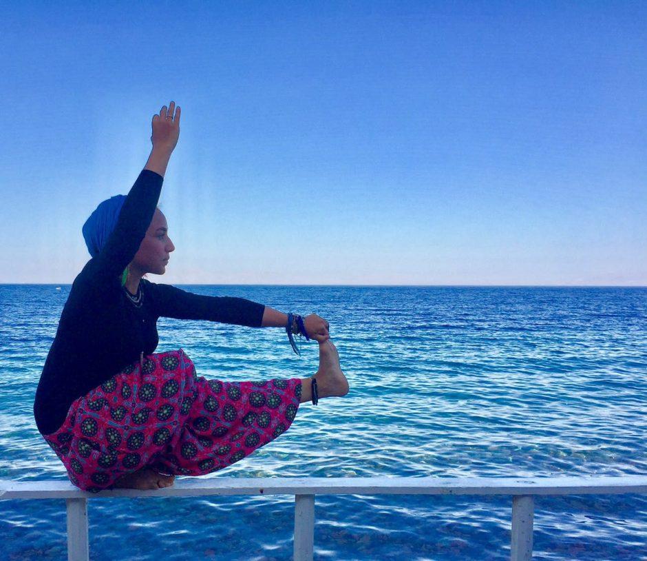 Bassent Yoga pose