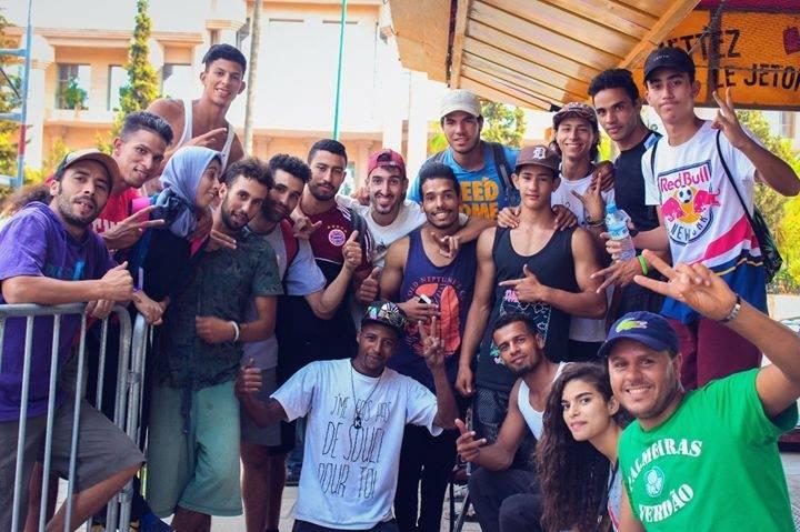 Fatima Mouzon and the boys