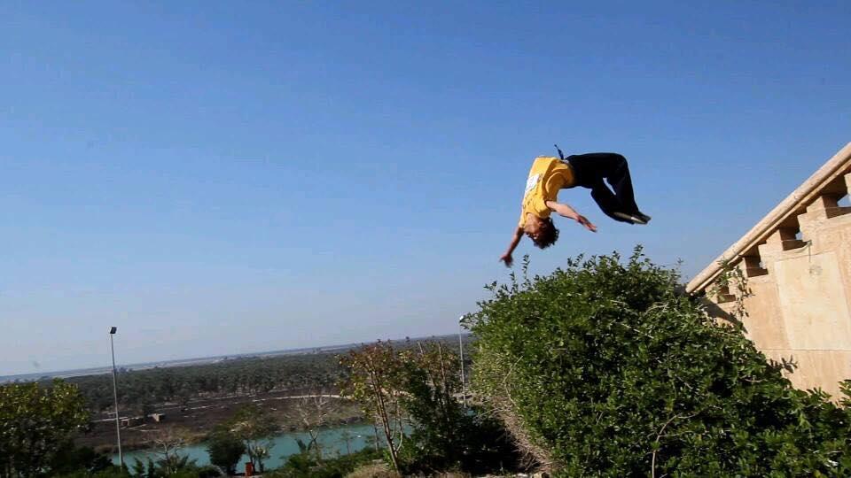 Heydar back flip