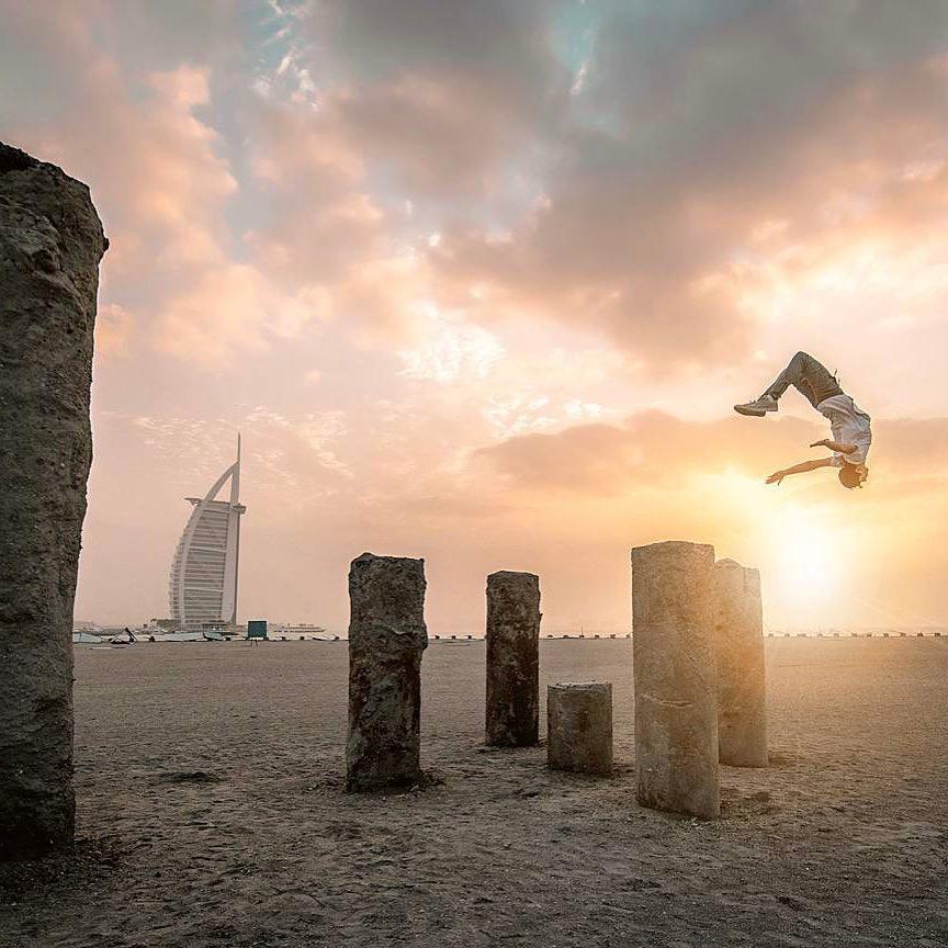 Parkour Dubai 1