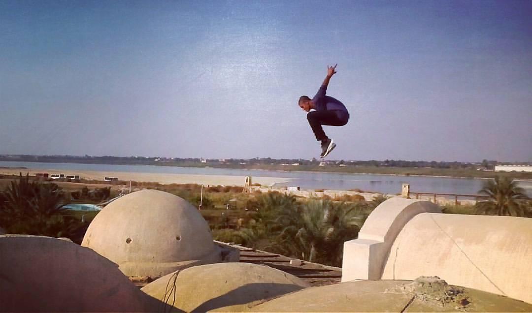 Serag Eldin Roof Jump