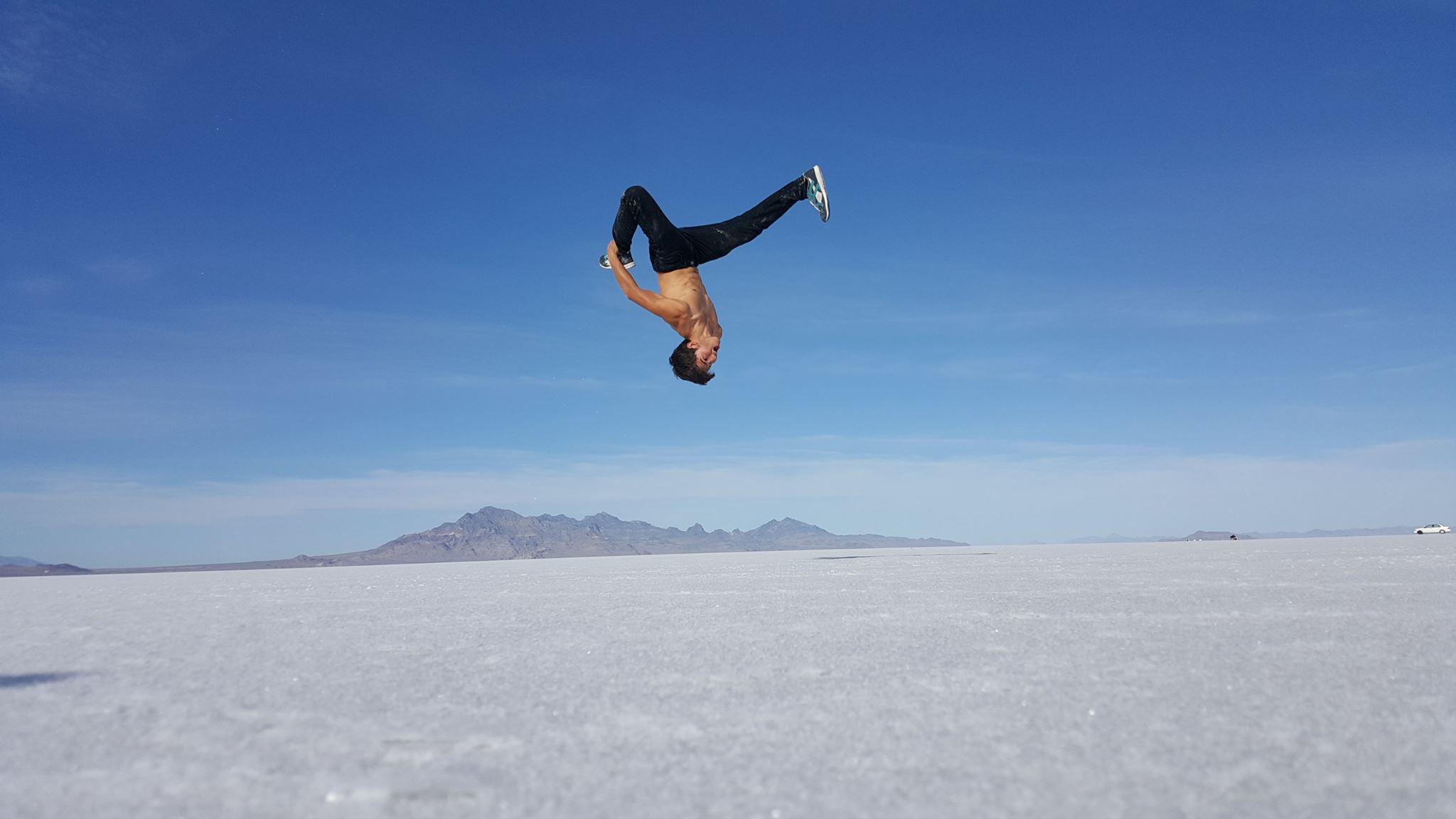 Calen Chan desert flip